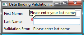 Validation Decoration